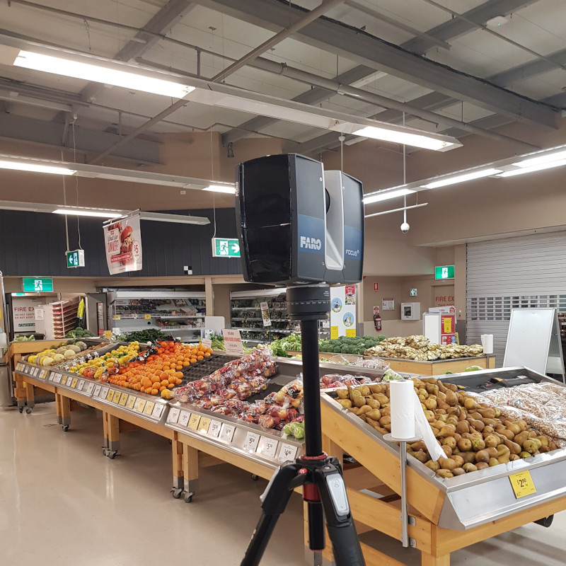 Scanpoint 3D at Coles